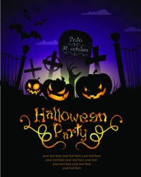 halloween party poster templates free