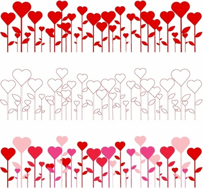 Heart Border Free Vector Download 9391 Free Vector For