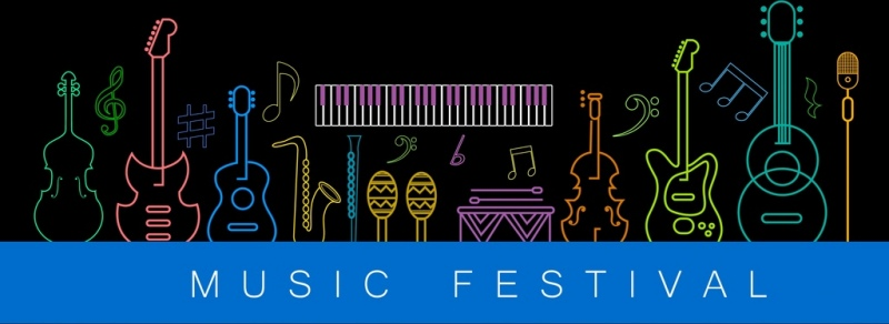 Image result for music festivals banners