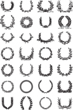 wreath template free svg # 17