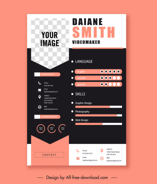 Software testing help this graphic design resume guide with examples will help you prepare a great graphic designe. Graphic Design Resume Free Vector Download 127 Free Vector For Commercial Use Format Ai Eps Cdr Svg Vector Illustration Graphic Art Design