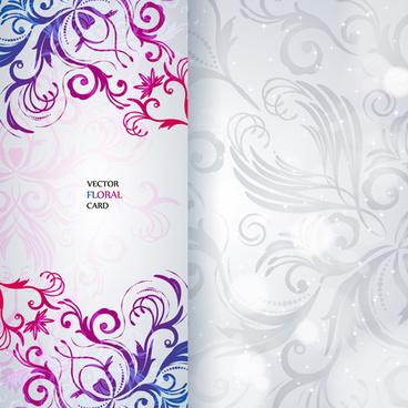 beautiful floral invitation card free
