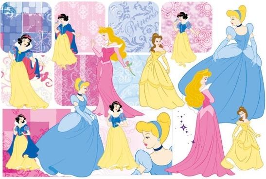Free Vector Disney Cartoon Characters   secondtofirst com
