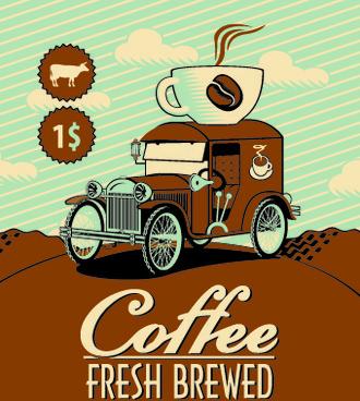 vintage coffee advertising posters free