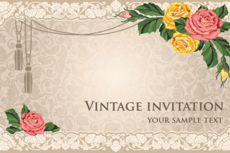 Classic wedding card background full hd maps locations another card design background free vector download free vintage invitations card background vector seamless floral wedding card background stock vector stopboris Choice Image
