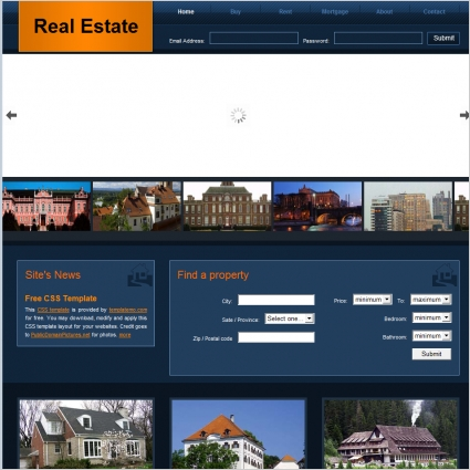 Efficacy is the second name of the given real estate agent html template. Real Estate Free Website Templates In Css Html Js Format For Free Download 575 22kb