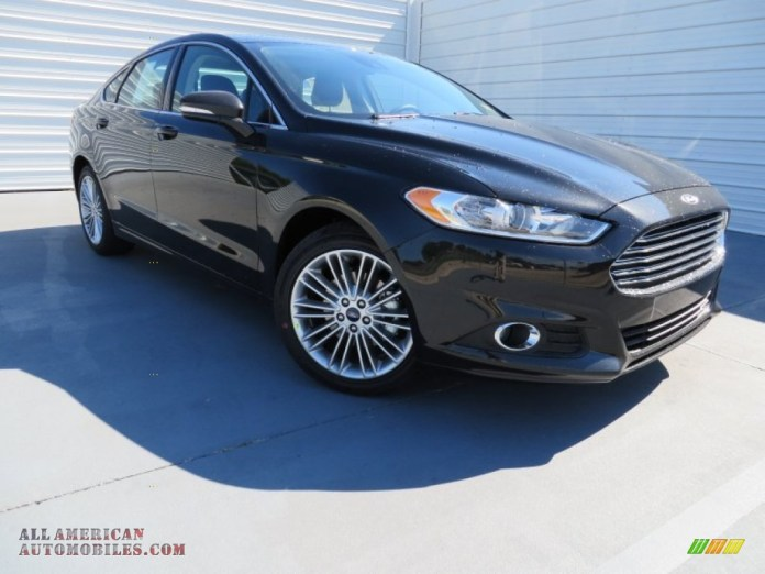 2014 ford fusion se ecoboost in tuxedo black - 157411 | all american