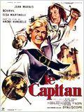 """Affiche du film """"Le capitan"""" de André Hunebelle"""