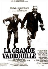 """Affiche du film de Gérard Oury """"La grande vadrouille"""""""