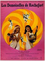Affiche du film Les demoiselles de Rochefort - source allocine.fr