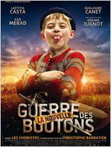 """Affiche du film """"La nouvelle guerre des boutons"""" - source : allocine.fr"""