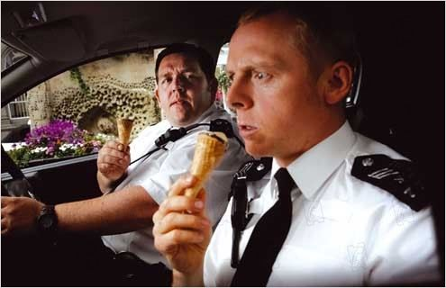 Hot Fuzz : Photo Nick Frost, Simon Pegg