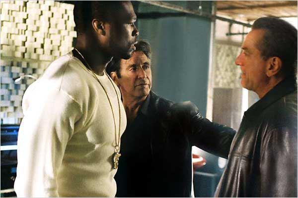 La Loi et l'ordre : photo Al Pacino, Curtis '50 Cent' Jackson, Jon Avnet, Robert De Niro