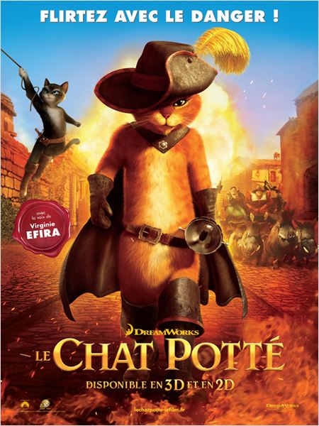 "Affiche du film ""Le Chat Potté"""