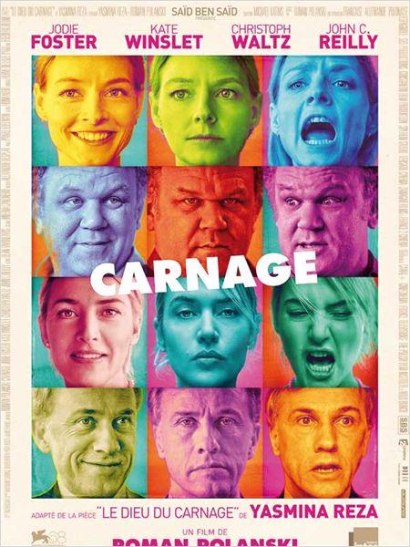 """Affiche du film """"Carnage"""""""