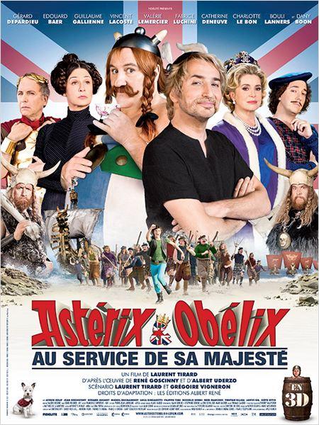Astérix et Obélix : au service de Sa Majesté : affiche
