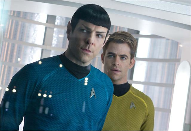 Star Trek Into Darkness : Photo Chris Pine, Zachary Quinto