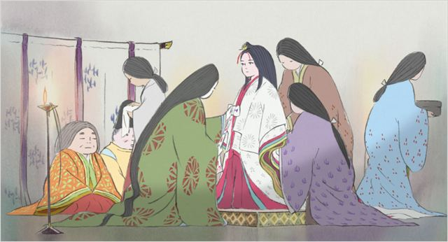 Le Conte de la princesse Kaguya : Photo