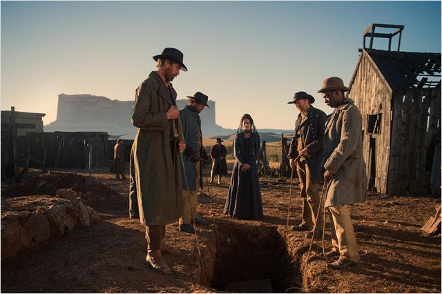 The Salvation : Photo Eric Cantona, Eva Green, Jeffrey Dean Morgan