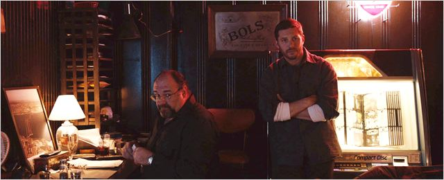 Quand vient la nuit : Photo James Gandolfini, Tom Hardy