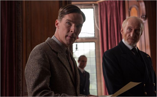 Imitation Game : Photo Benedict Cumberbatch, Charles Dance