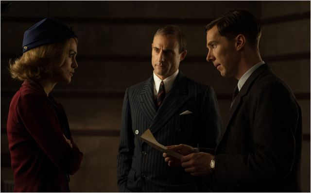Imitation Game : Photo Benedict Cumberbatch, Keira Knightley, Mark Strong