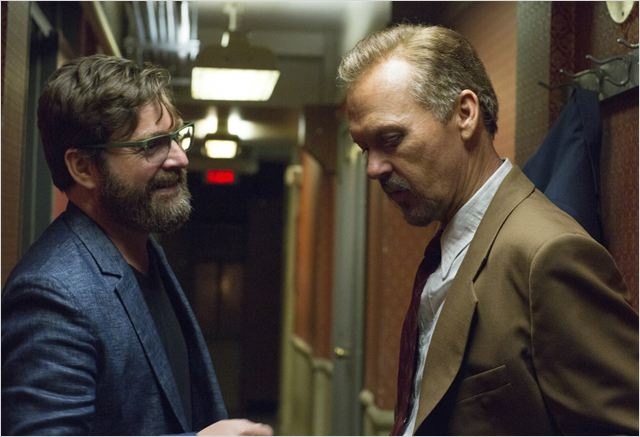 Birdman : Photo Michael Keaton, Zach Galifianakis