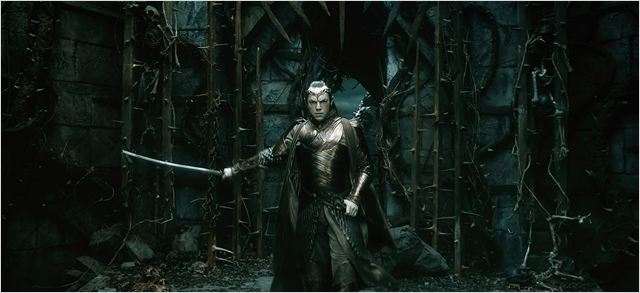 Le Hobbit : la Bataille des Cinq Armées : Photo Hugo Weaving
