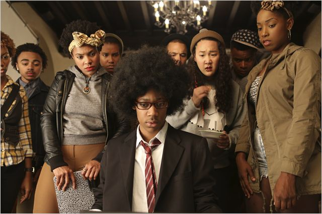 Dear White People : Photo Ashley Blaine Featherson, Naomi Ko, Tessa Thompson, Tyler James Williams