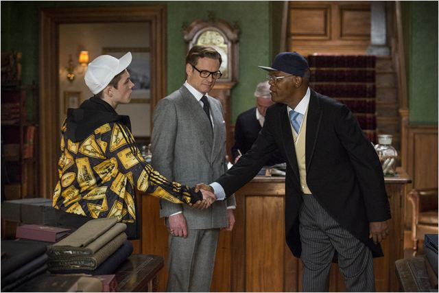 Kingsman : Services secrets : Photo Colin Firth, Taron Egerton