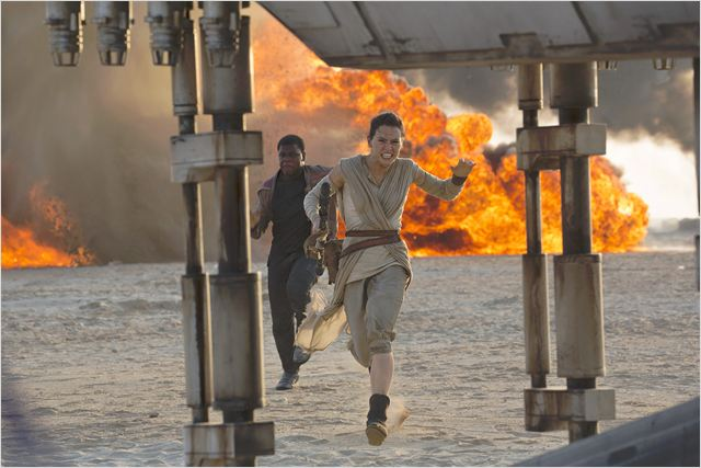 Star Wars - Le Réveil de la Force : Photo Daisy Ridley, John Boyega