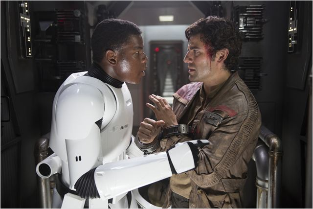 Star Wars - Le Réveil de la Force : Photo John Boyega, Oscar Isaac