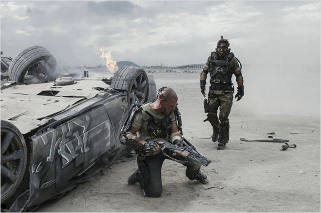 Elysium : Photo Matt Damon