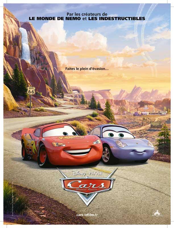 """Affiche du film """"Cars"""" de John Lasseter"""