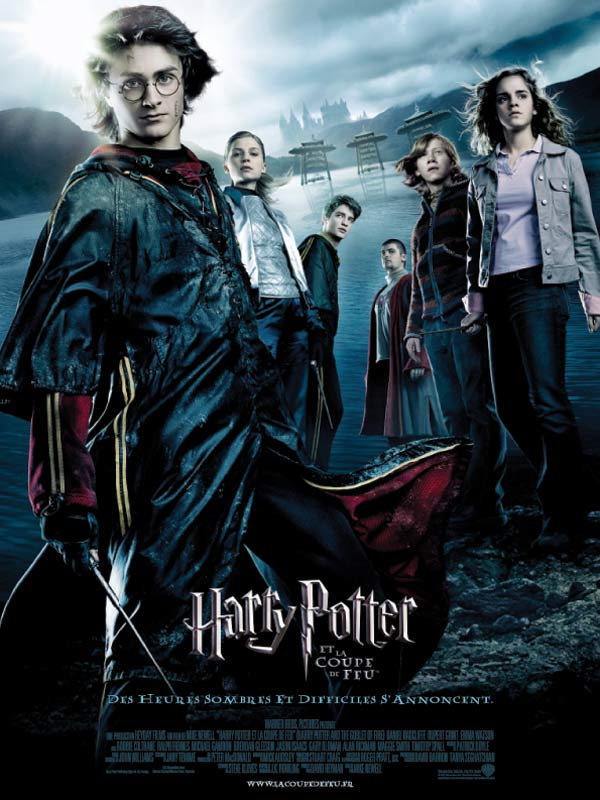 "Affiche du film de Mike Newell : ""Harry Potter et la coupe de feu"""