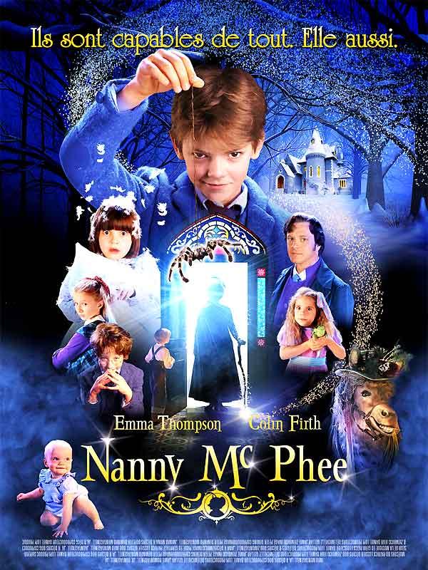 "Affiche du film de Kirk Jones ""Nanny McPhee"""