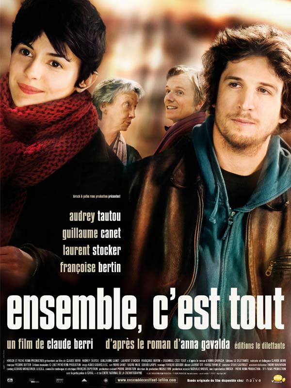 """Affiche du film de Claude Berri """"Ensemble c'est tout"""" - source : Allo Ciné"""