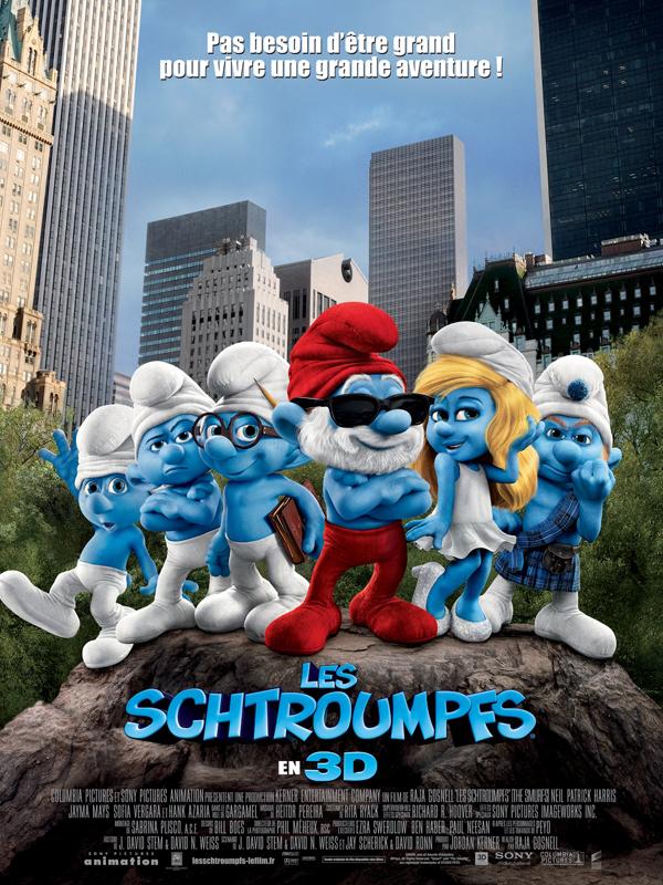 """Affiche du film """"Les Schtroumpfs"""""""