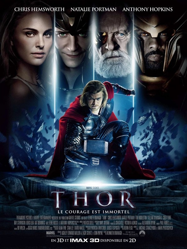 "Affiche du film ""Thor"""