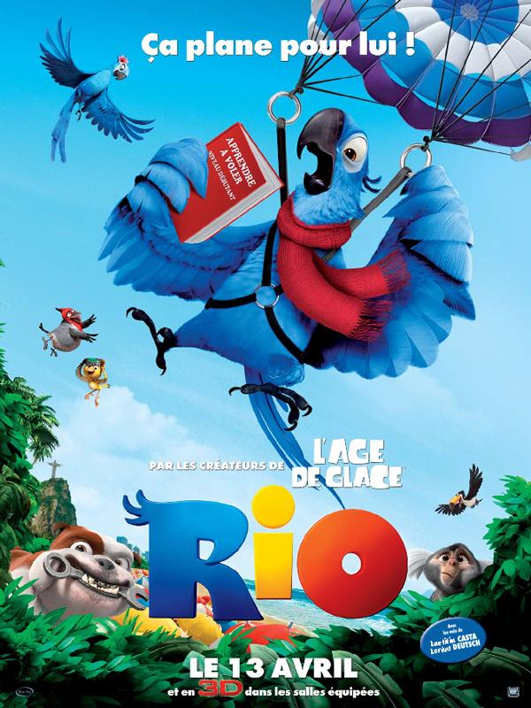 "Affiche du film ""Rio"""