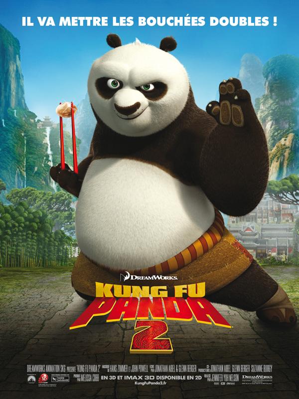 """Affiche du film """"Kung-Fu Panda 2"""""""