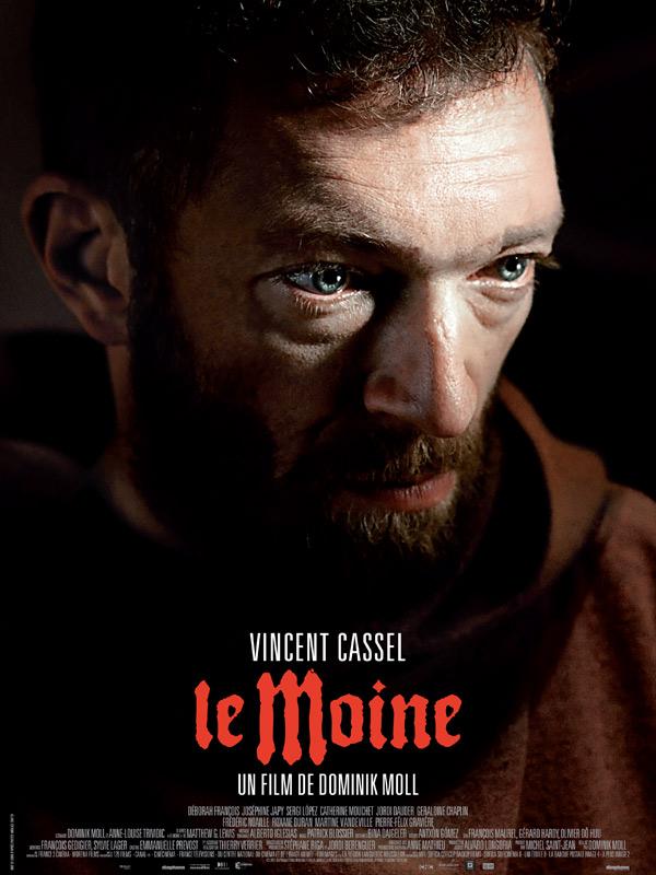 """Affiche du film """"Le moine"""""""