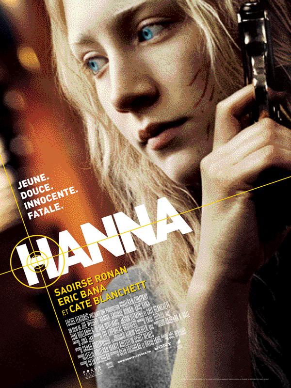 """Affiche du film """"Hanna"""""""