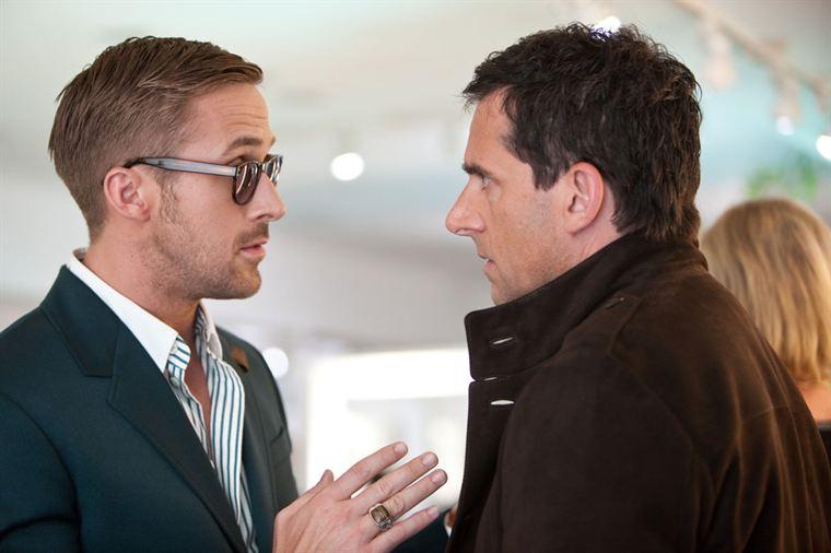 Jacob (Ryan Gosling) prodigue ses précieux conseils à Cal (Steve Carell)