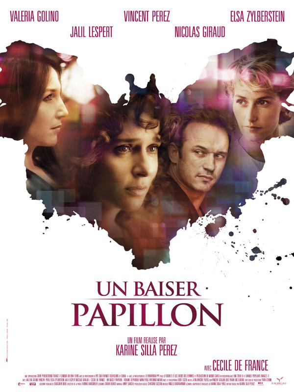 """Affiche du film de Karine Silla """"Un baiser papillon"""""""