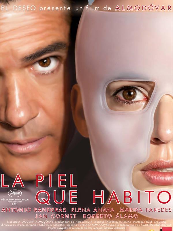 """Affiche du film """"La piel que habito"""""""