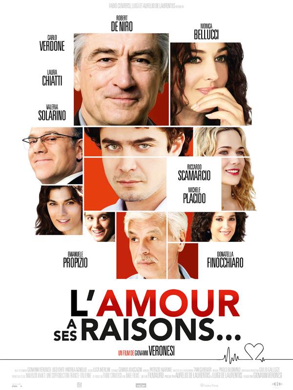 """Affiche du film """"L'amour a ses raisons"""""""