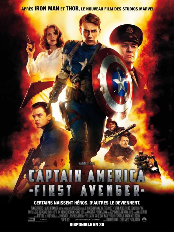"""Affiche du film """"Captain America : First Avenger"""""""