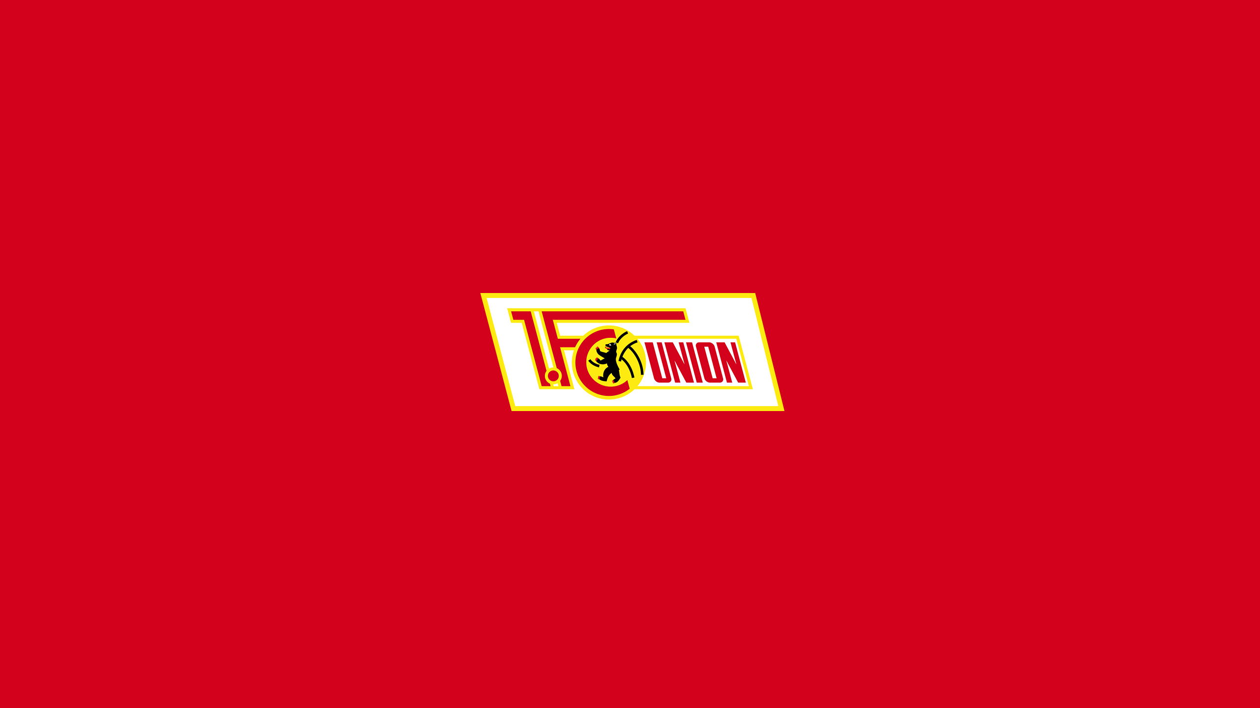 Fc union berlin logo image files for download. 1 Fc Union Berlin Hd Wallpaper Background Image 2560x1440