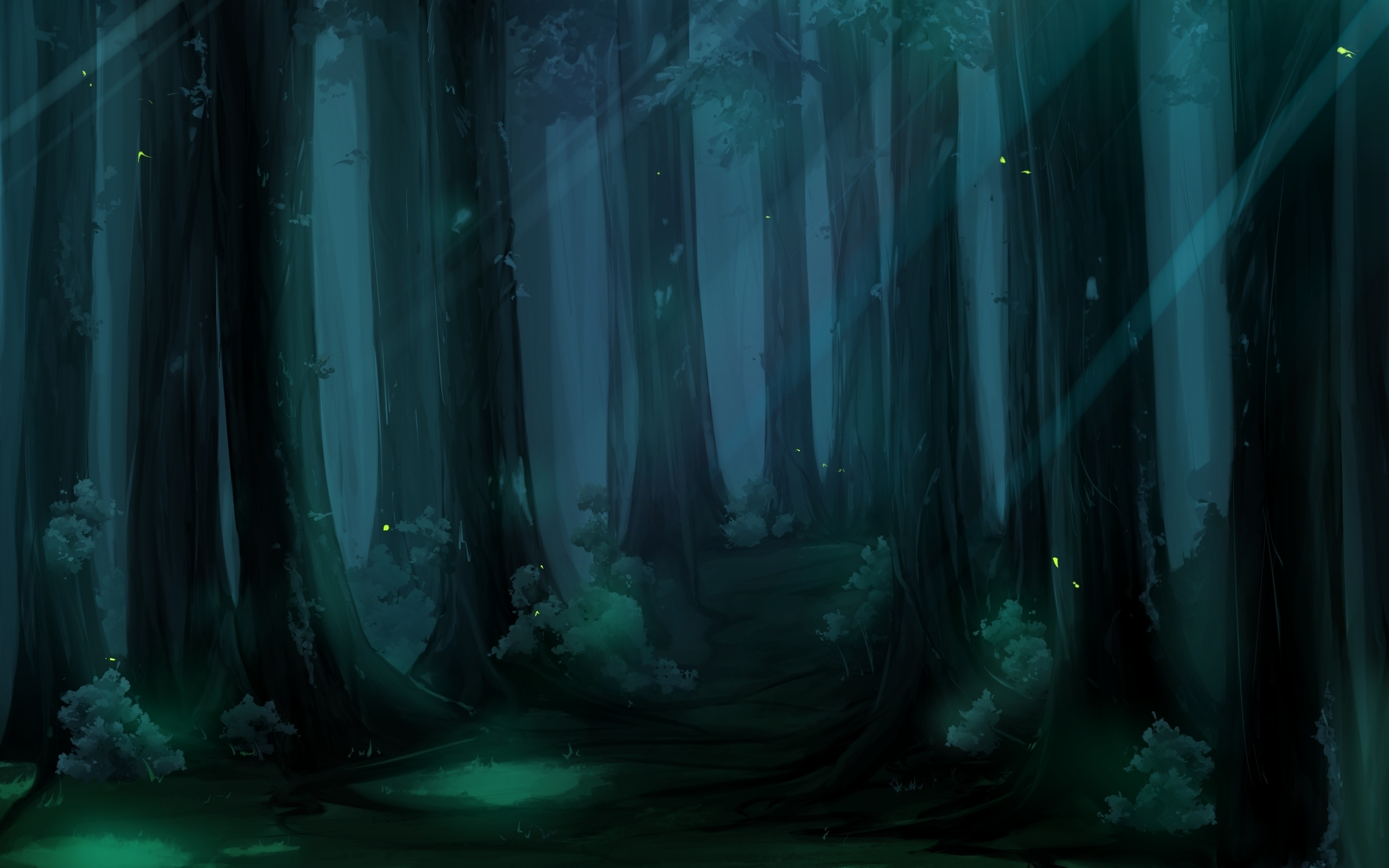 forest full hd wallpaper and background | 2560x1600 | id:152113